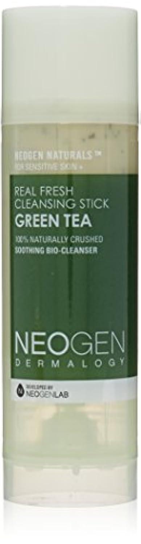 縫う経験奨学金Neogen Dermalogy Green Tea Real Fresh Cleansing Stick 80g