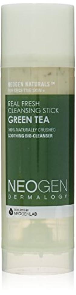 メール復讐鏡Neogen Dermalogy Green Tea Real Fresh Cleansing Stick 80g