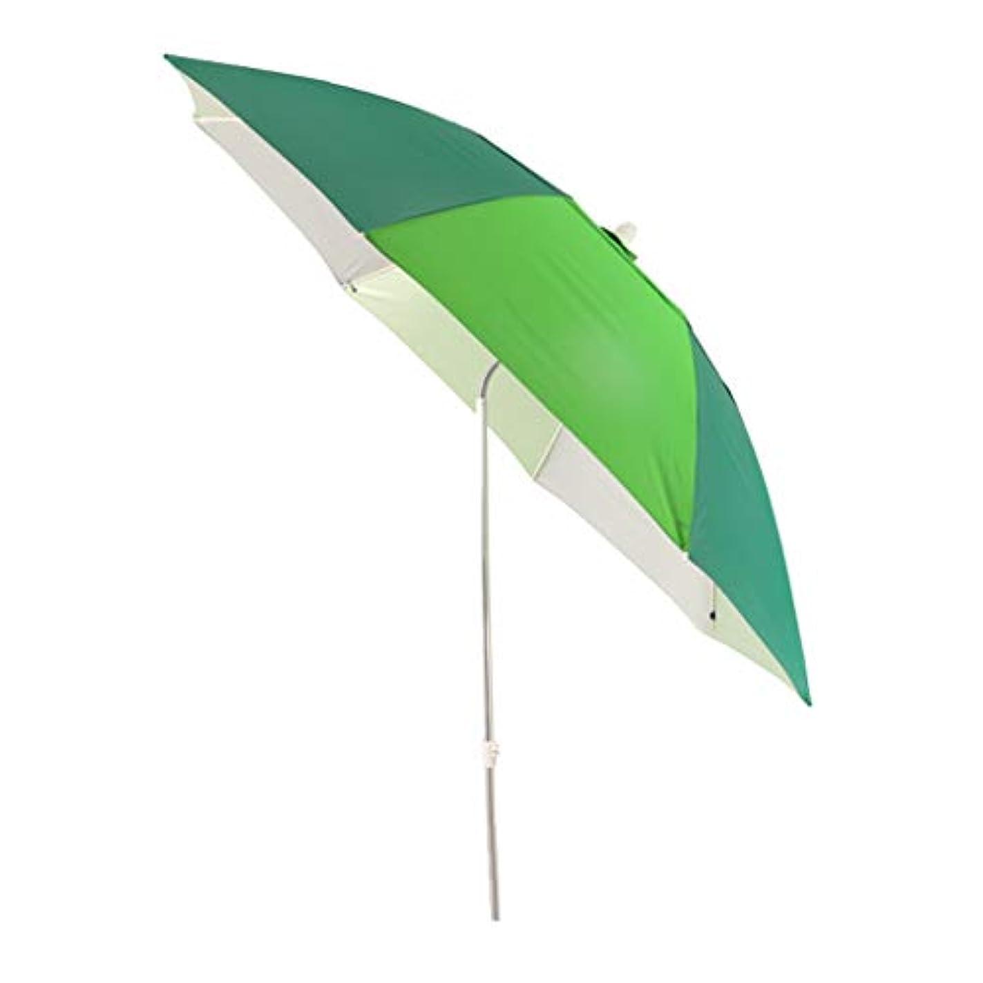 非難する排除コットン太陽傘アルミ合金オックスフォード回転日焼け止め雨折りたたみ傘屋外サンシェード傘 (サイズ さいず : Diameter1.8m)