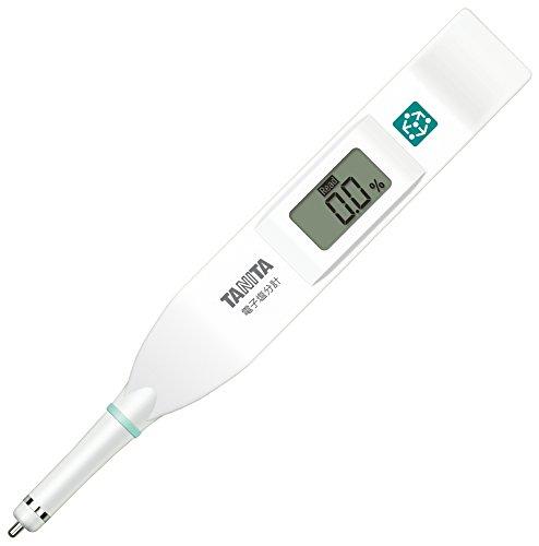 タニタ 塩分計 デジタル 高精度 防水 ホワイト SO-304 WH