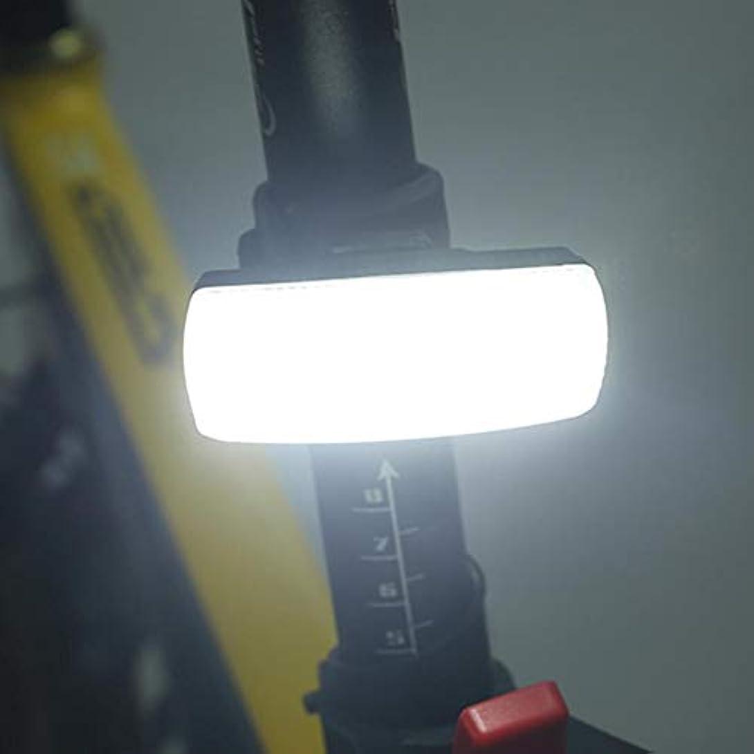 誘導考える士気自転車ライト LED リアライト テールライト USB充電 360度回転 防水 安全警告テールライト Nelnissa