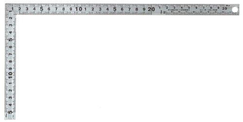SK シルバー曲尺 同目同厚 30cm 快段目盛 SDD-30CKD