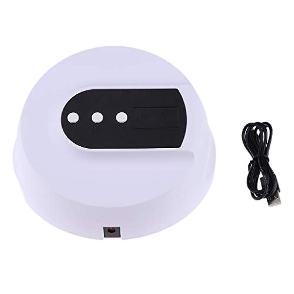 キャンベラ試用嫌いDYNWAVE 全3色 ネイルランプ ネイルドライヤー LEDライト UVネイルランプ ポリッシュ用 - 36W