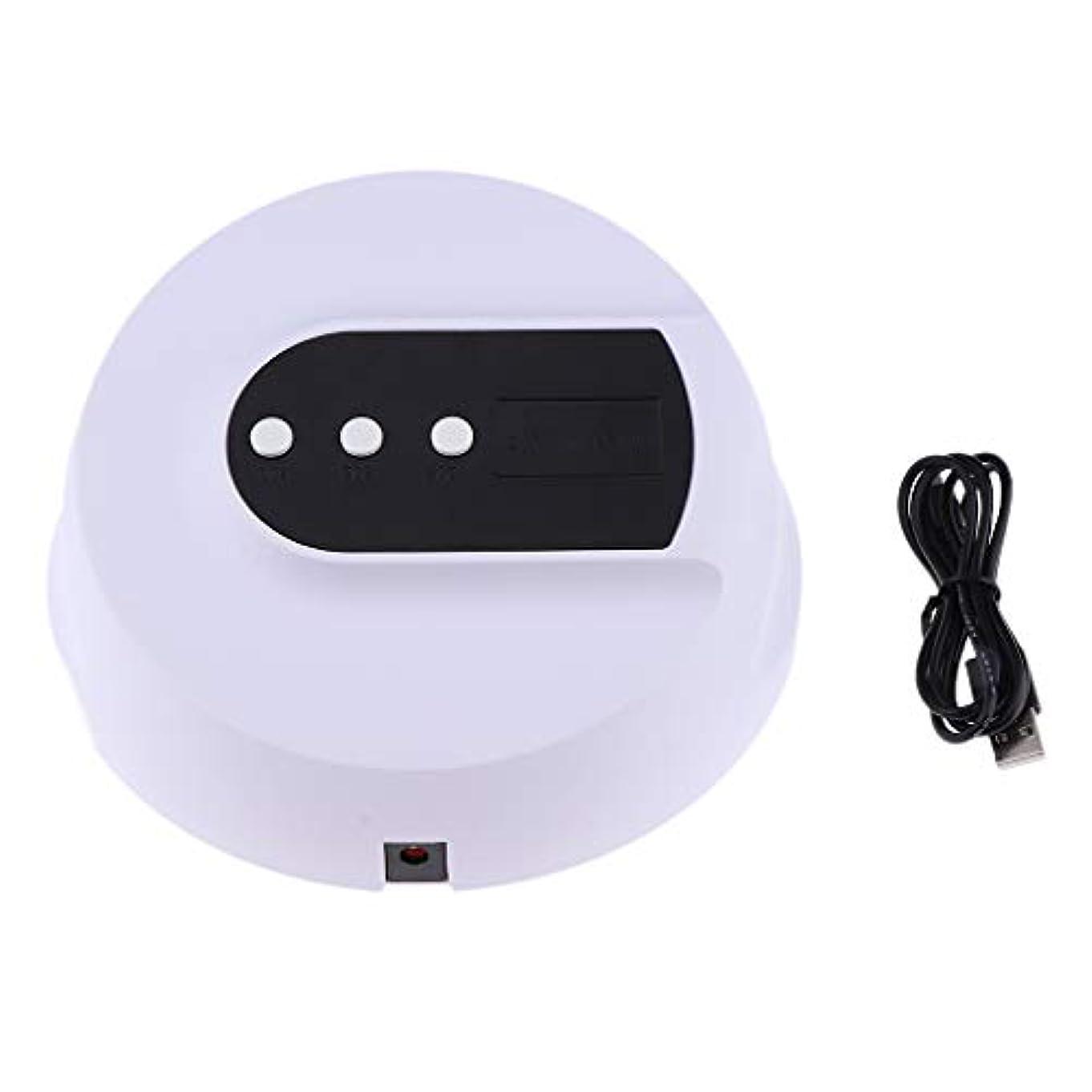 ディプロマ送料貧しいDYNWAVE 全3色 ネイルランプ ネイルドライヤー LEDライト UVネイルランプ ポリッシュ用 - 36W