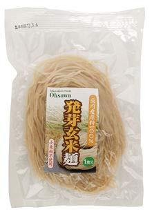 オーサワジャパン 発芽玄米麺 ×4セット