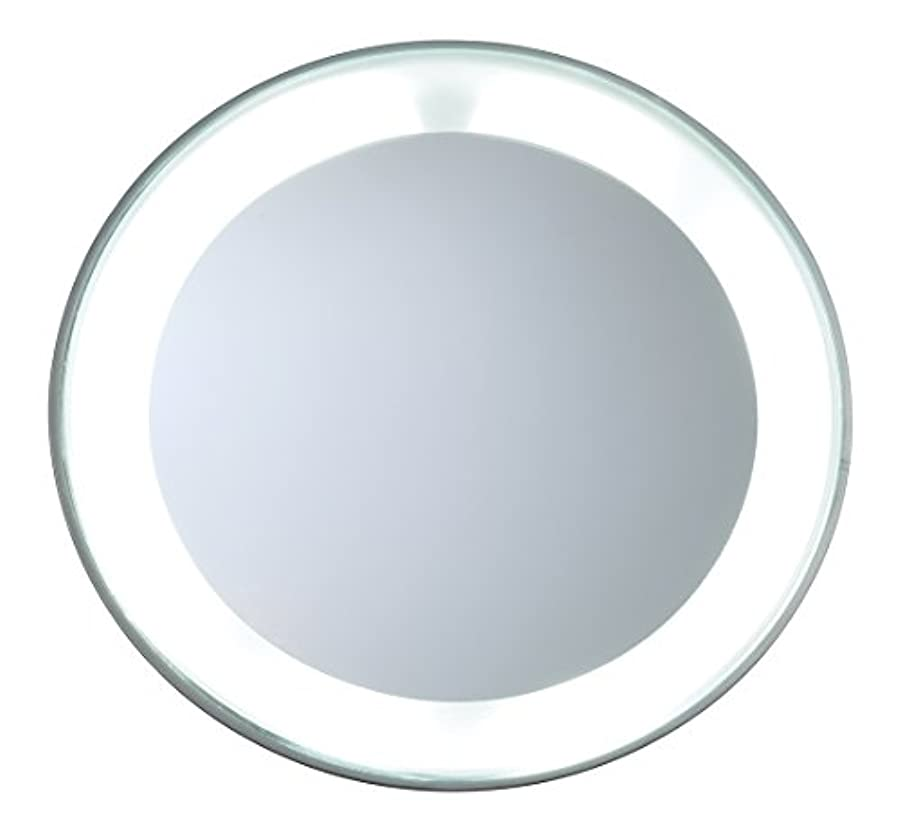 小さい本気可能にするツィーザーマン マグニファイングミラーLEDライト付き (15倍拡大鏡/スタジオ コレクション)