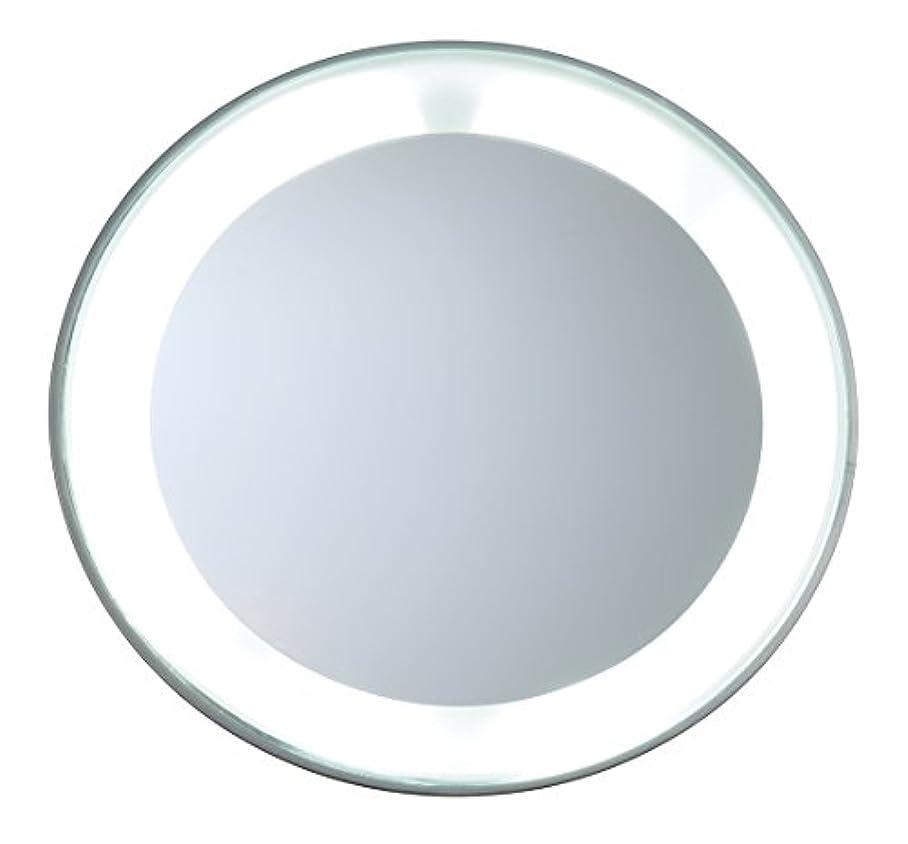 公スチールバーチャルツィーザーマン マグニファイングミラーLEDライト付き (15倍拡大鏡/スタジオ コレクション)