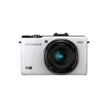 OLYMPUS デジタルカメラ XZ-1 ホワイト 1000万画素 1/1.63型高感度CCD 大口径F1.8 i.ZUIKO DIGITALレンズ 3.0型有機ELディスプレイ XZ-1 WHT