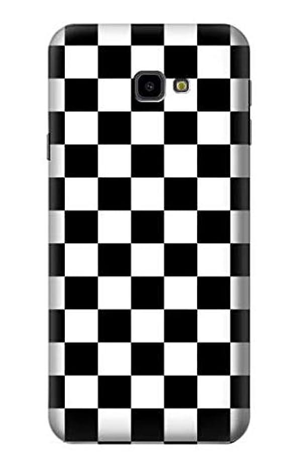 クリーナー成人期規則性JP1611J4P チェッカーボード Checkerboard Chess Board Samsung Galaxy J4+ (2018), J4 Plus (2018) ケース