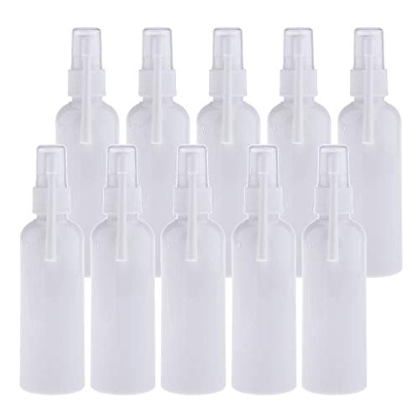 パースとんでもない恐怖CUTICATE スプレーボトル 経口 点鼻スプレーボトル スプレー容器 点鼻噴霧 詰め替え容器 携帯用 全2色 - 白