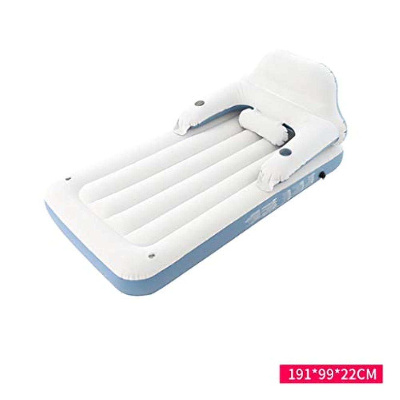 銀根拠擬人ベッド、あと振れ止めの膨脹可能な折りたたみ携帯用エアクッションの世帯の屋外のマットレス(サイズ:A)