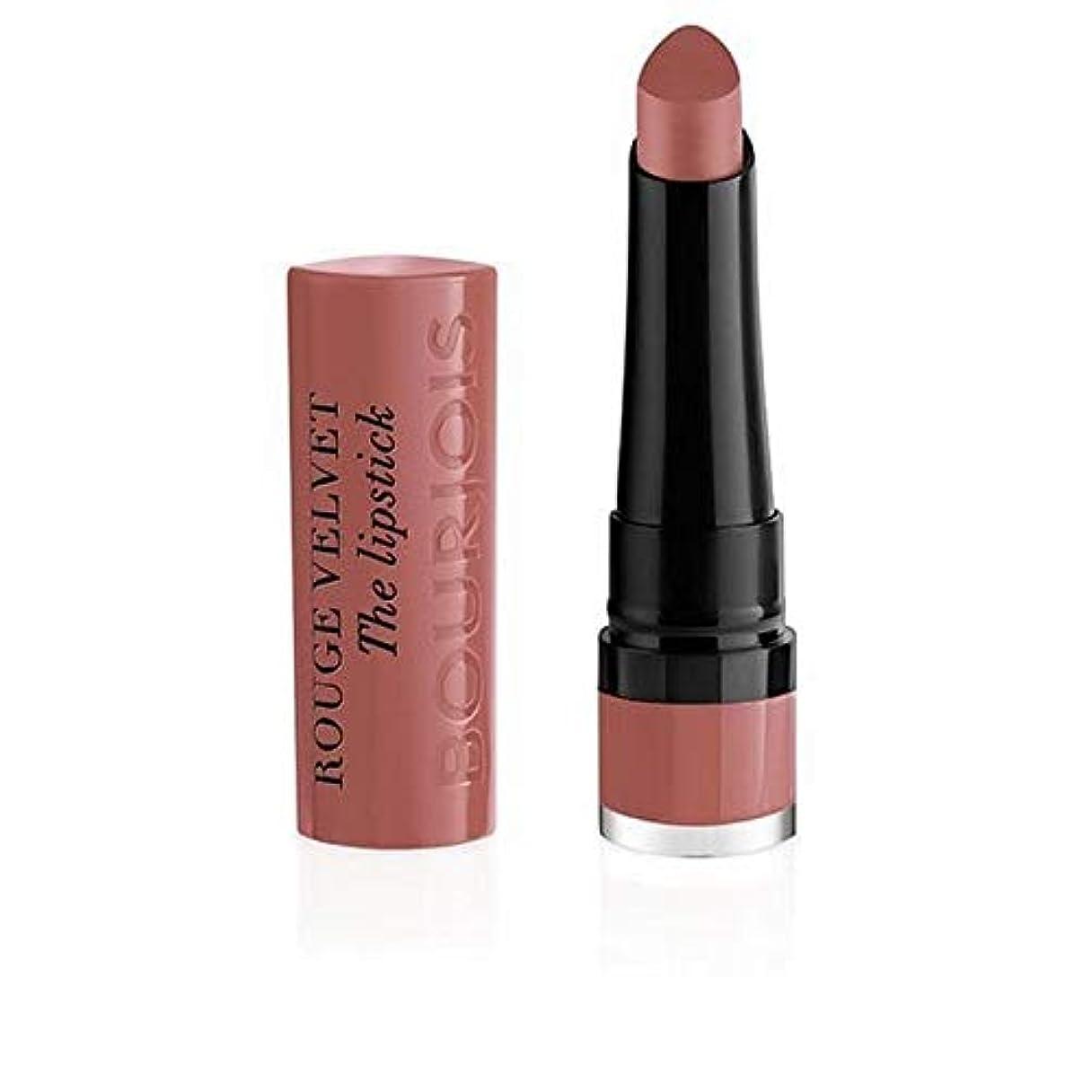 文ストッキング耐えられる[Bourjois ] ルージュのベルベットの口紅13 Nochalicious - Rouge Velvet The Lipstick 13 Nochalicious [並行輸入品]