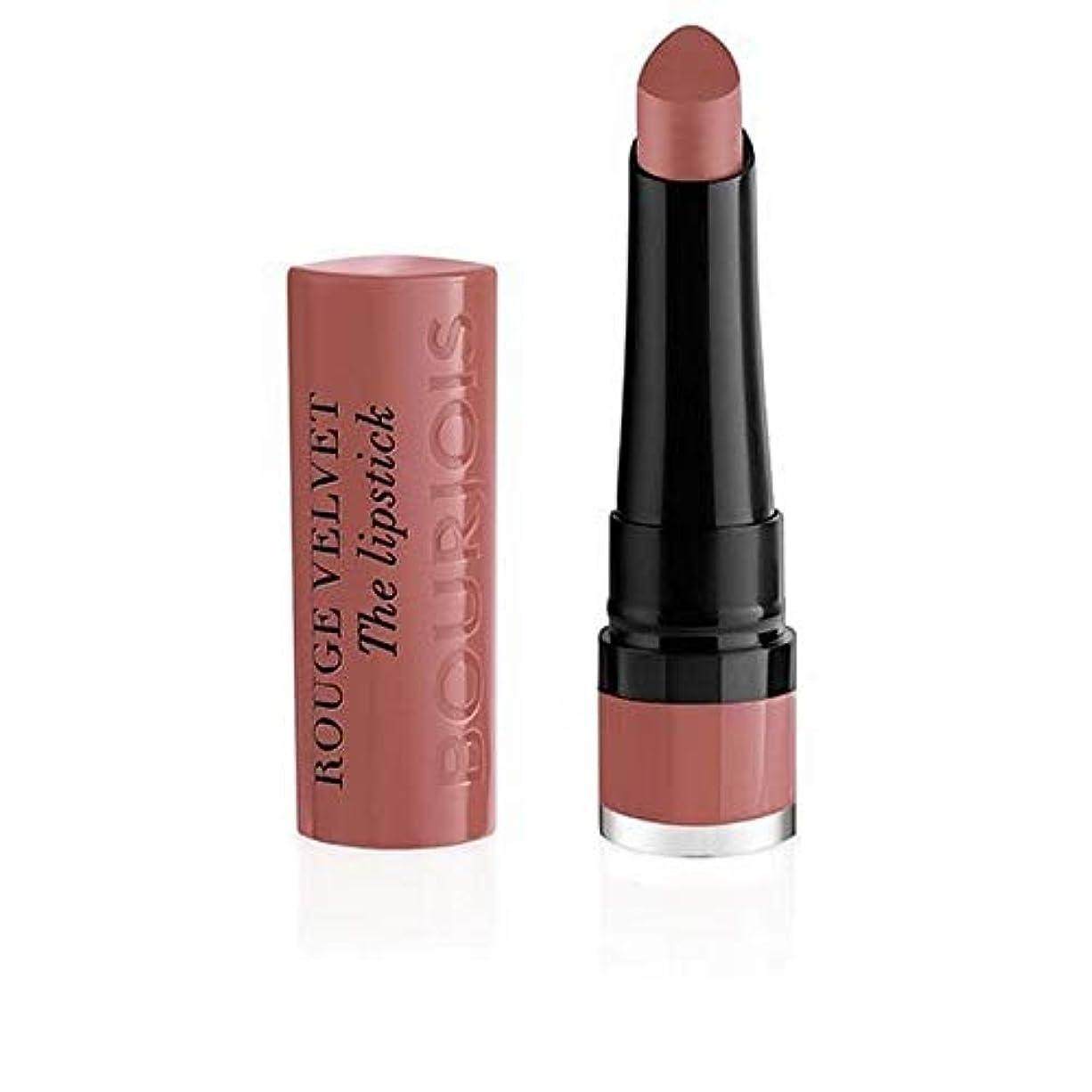 未満たまにアラーム[Bourjois ] ルージュのベルベットの口紅13 Nochalicious - Rouge Velvet The Lipstick 13 Nochalicious [並行輸入品]