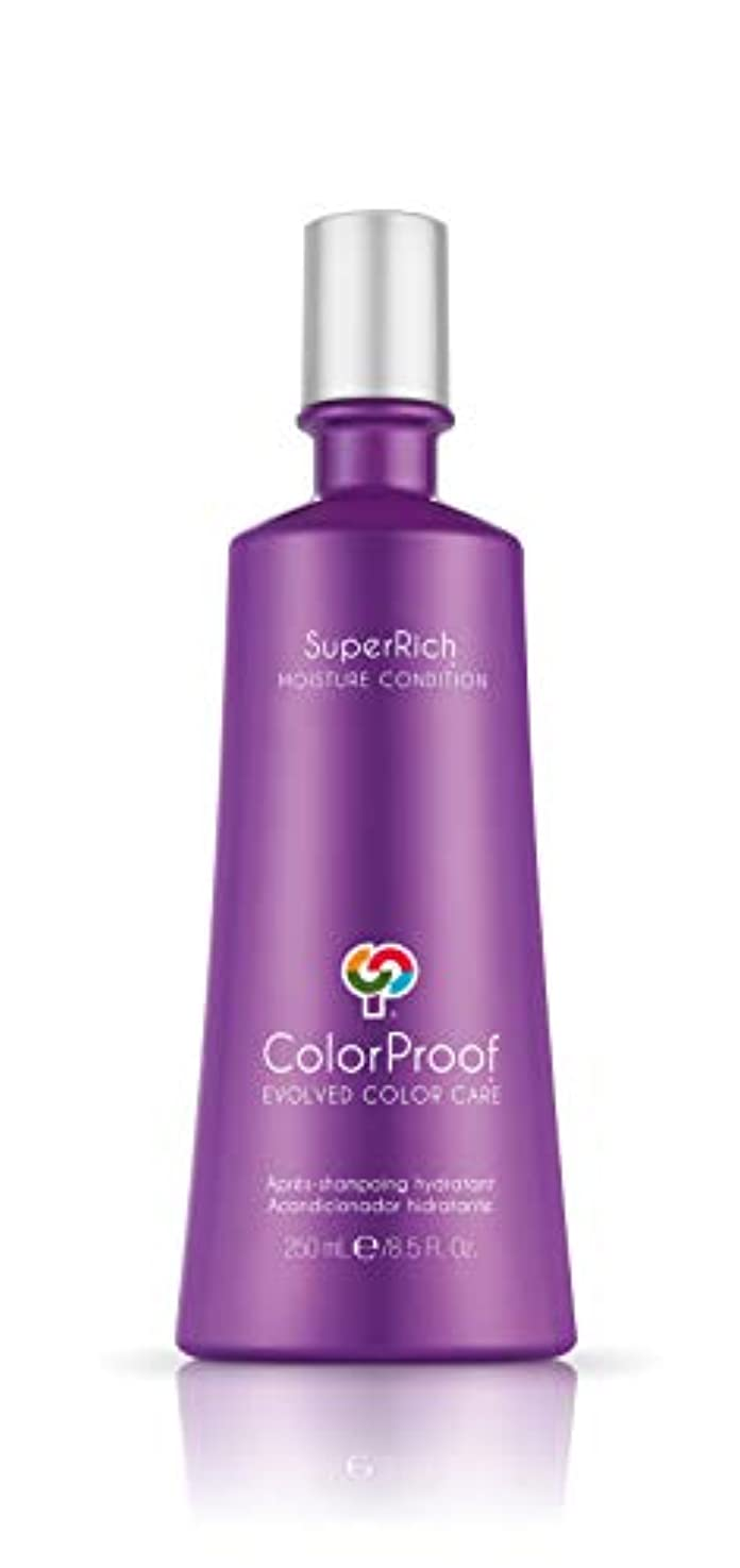 急いでせがむハグColorProof Super Rich Moisture Conditioner for Unisex, 8.5 Ounce by Colorproof