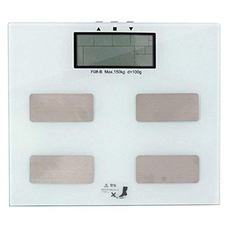 体重計 体組成計 ヘルメーター 内脂肪レベル 体脂肪率 骨量 基礎代謝 シェイプアップ ダイエット 健康管理 美容 ホワイト