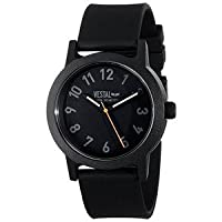 腕時計 ベスタル Vestal Men's ALP3P04 Alpha Bravo Plastic Analog Display Japanese Quartz Black Watch【並行輸入品】