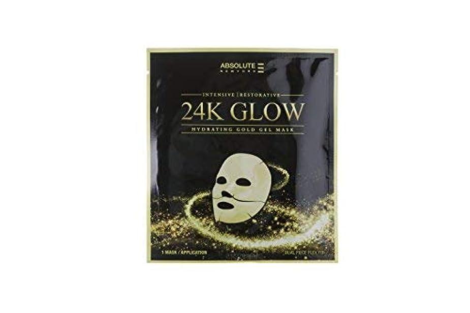 パック美徳アルファベットAbsolute 24K Glow Gold Gel Mask (並行輸入品)