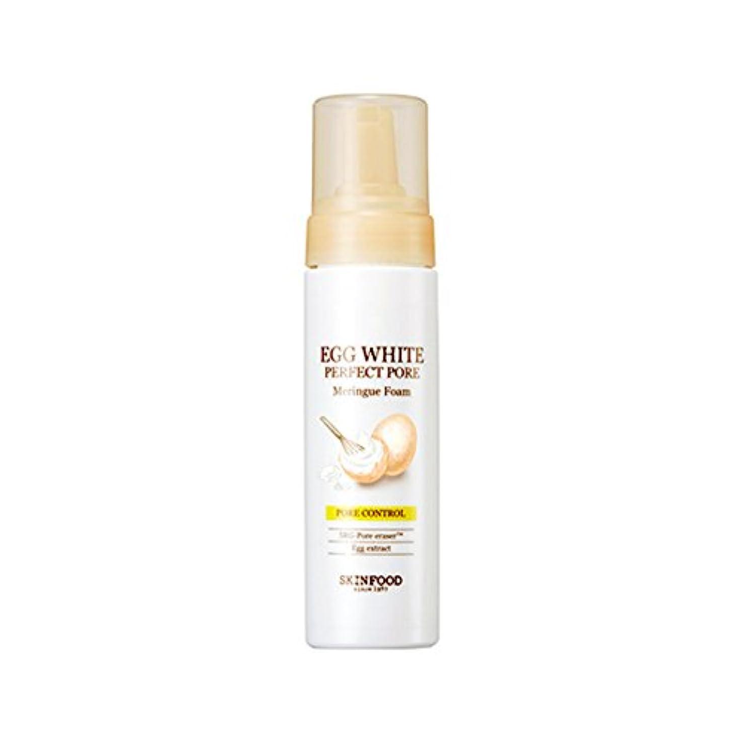 ご予約検索十年Skinfood/Egg White Perfect Pore Meringue Foam/エッグホワイトパーフェクトポアメレンゲフォーム/200ml [並行輸入品]