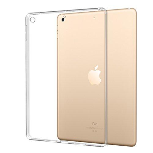 TopACE iPad 9.7インチ ケース iPad 9.7インチ(2017年版 / 2018年版) 極薄 ソフト クリア 落下防止 用 耐スクラッチ全面保護 ソフトTPU ケース(クリア)