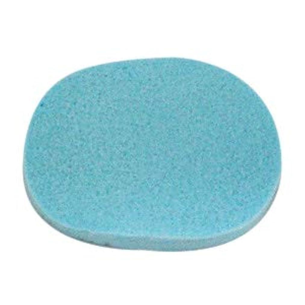 私の対応する石膏【10枚】エステ用スポンジ(ブルー/細かめ/厚さ9mm)フェイシャルスポンジ (10)