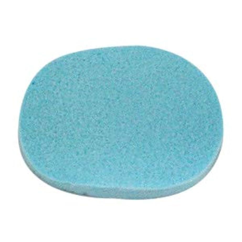 緩む冷える桁【20枚】エステ用スポンジ(ブルー/細かめ/厚さ14mm)フェイシャルスポンジ (20)