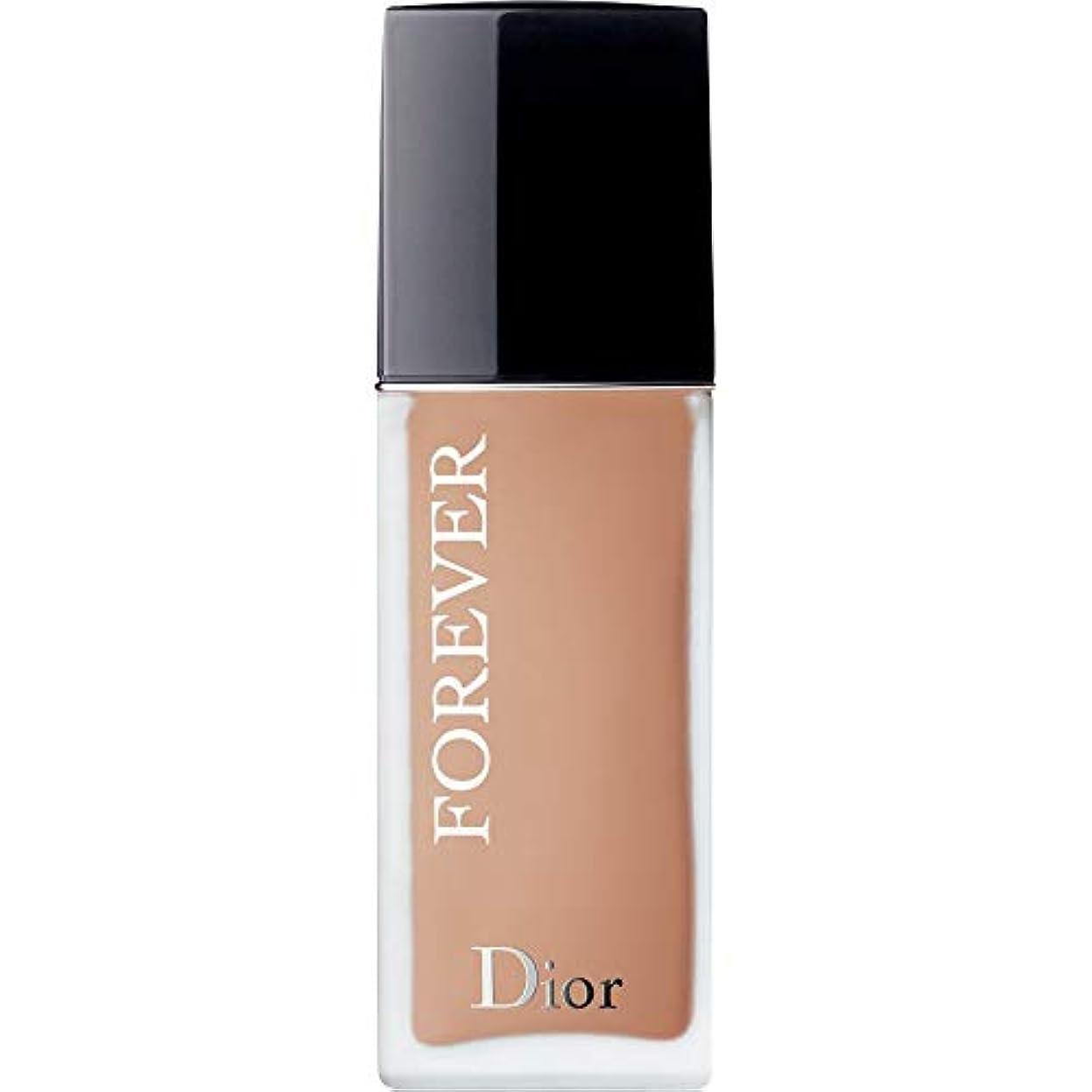 海港ポップ書き出す[Dior ] ディオール永遠皮膚思いやりの基礎Spf35 30ミリリットル4Cを - クール(つや消し) - DIOR Forever Skin-Caring Foundation SPF35 30ml 4C - Cool...