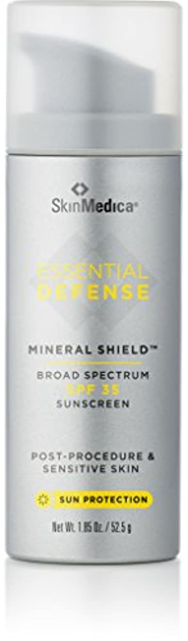 フリンジ九効能スキンメディカ Essential Defense Mineral Shield Sunscreen SPF 35 52.5g/1.85oz