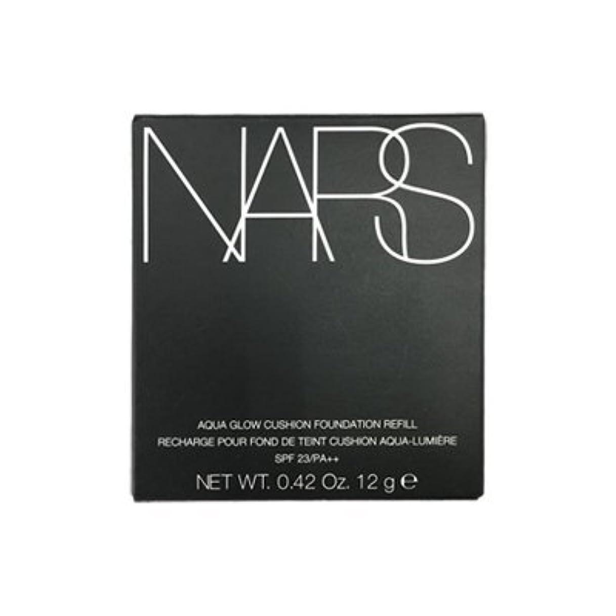 入力絶滅したメーカーNARS アクアティックグロー クッションコンパクト レフィル SPF23/PA++ #6802 [並行輸入品]