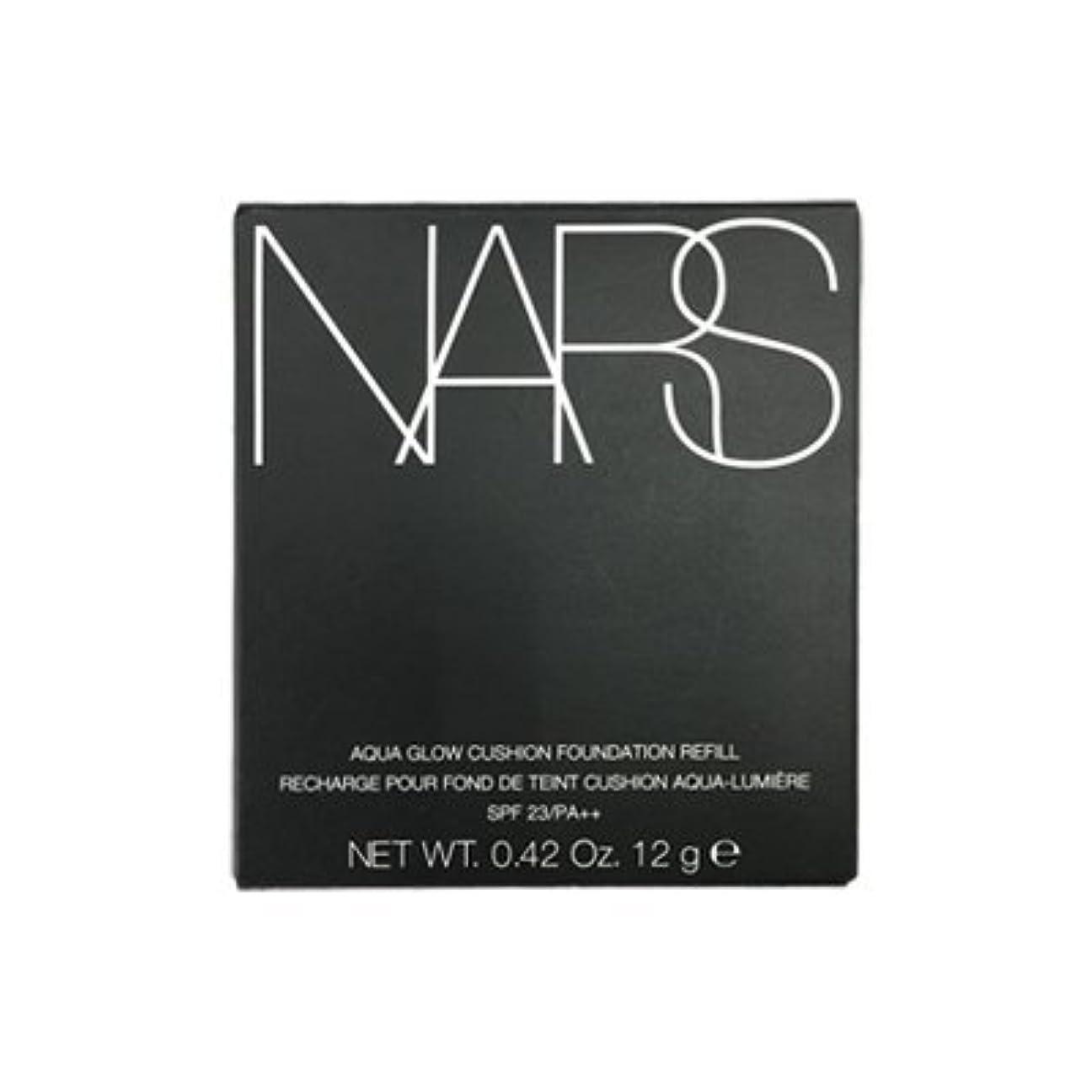 乳白色噴火泥棒NARS アクアティックグロー クッションコンパクト レフィル SPF23/PA++ #6802 [並行輸入品]