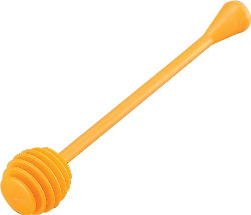 タイガークラウン スプーン オレンジ 30×30×175mm ハチミツスプーン スチロール樹脂 453