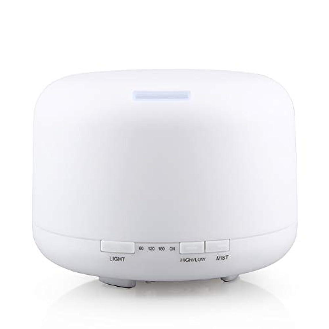 報復する伝染性のタオル500ml 家庭用加湿器プラグイン超音波アロマセラピーマシンエッセンシャルオイル加湿器ホームナイトライト
