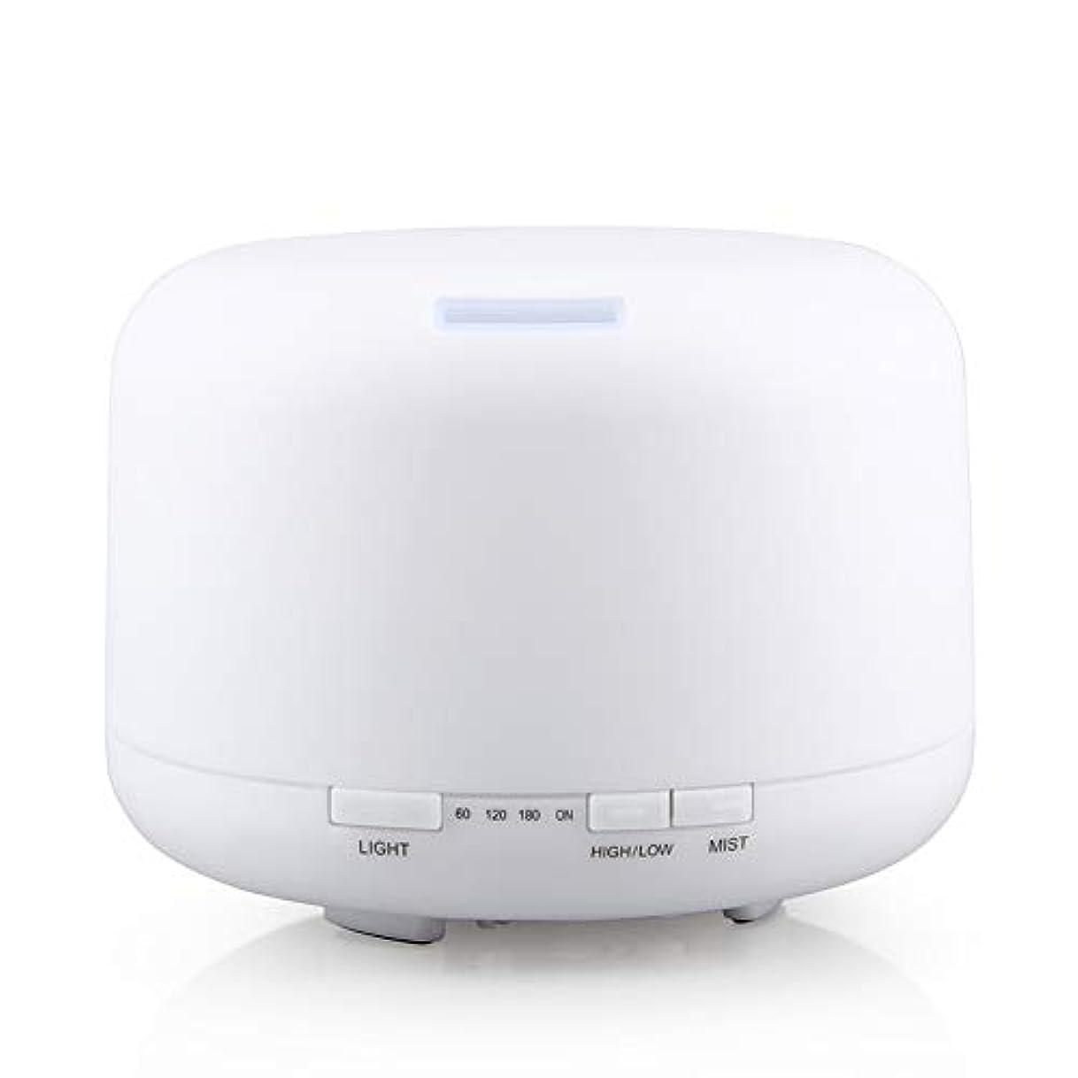 存在する医学乱す500ml 家庭用加湿器プラグイン超音波アロマセラピーマシンエッセンシャルオイル加湿器ホームナイトライト