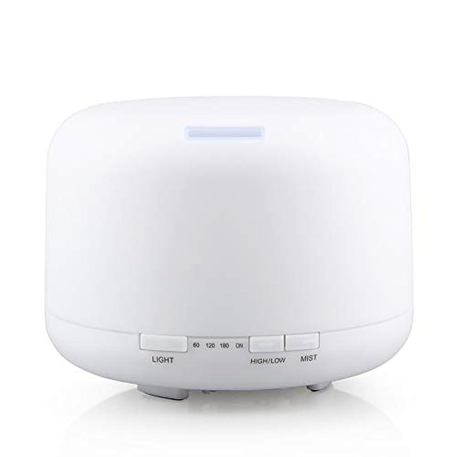 農業の壮大成り立つ500ml 家庭用加湿器プラグイン超音波アロマセラピーマシンエッセンシャルオイル加湿器ホームナイトライト