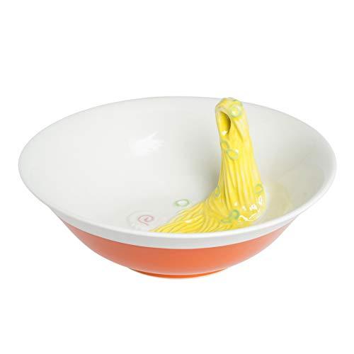 サンアート おもしろ食器 「 食品サンプル風 」 ラーメン(空中箸置き付) ラーメン鉢 直径26cm SAN2276