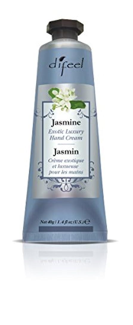 シャワーすみません慣らすDifeel(ディフィール) ジャスミン ナチュラル ハンドクリーム 40g JASMINE 08JASn New York