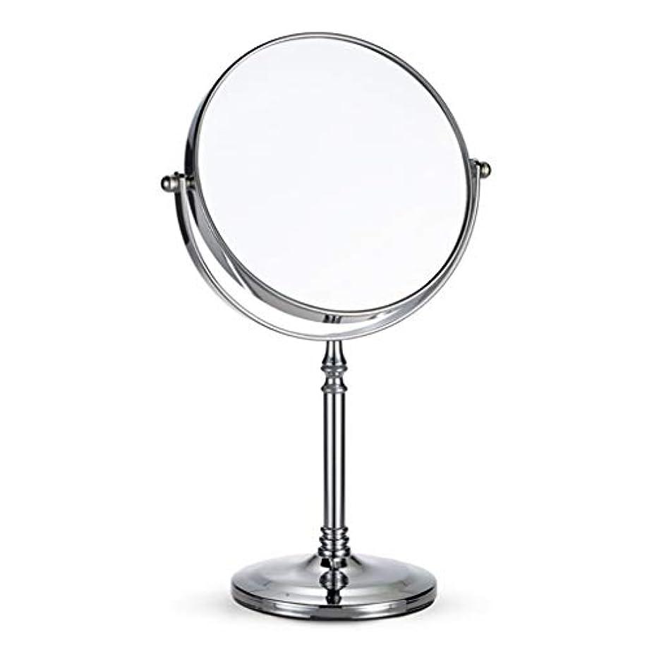 無視シャーロックホームズ種卓上ミラー、両面ミラー、カウンタートップバニティ拡大鏡、携帯用化粧鏡、寝室のメイクアップミラー、浴室の鏡
