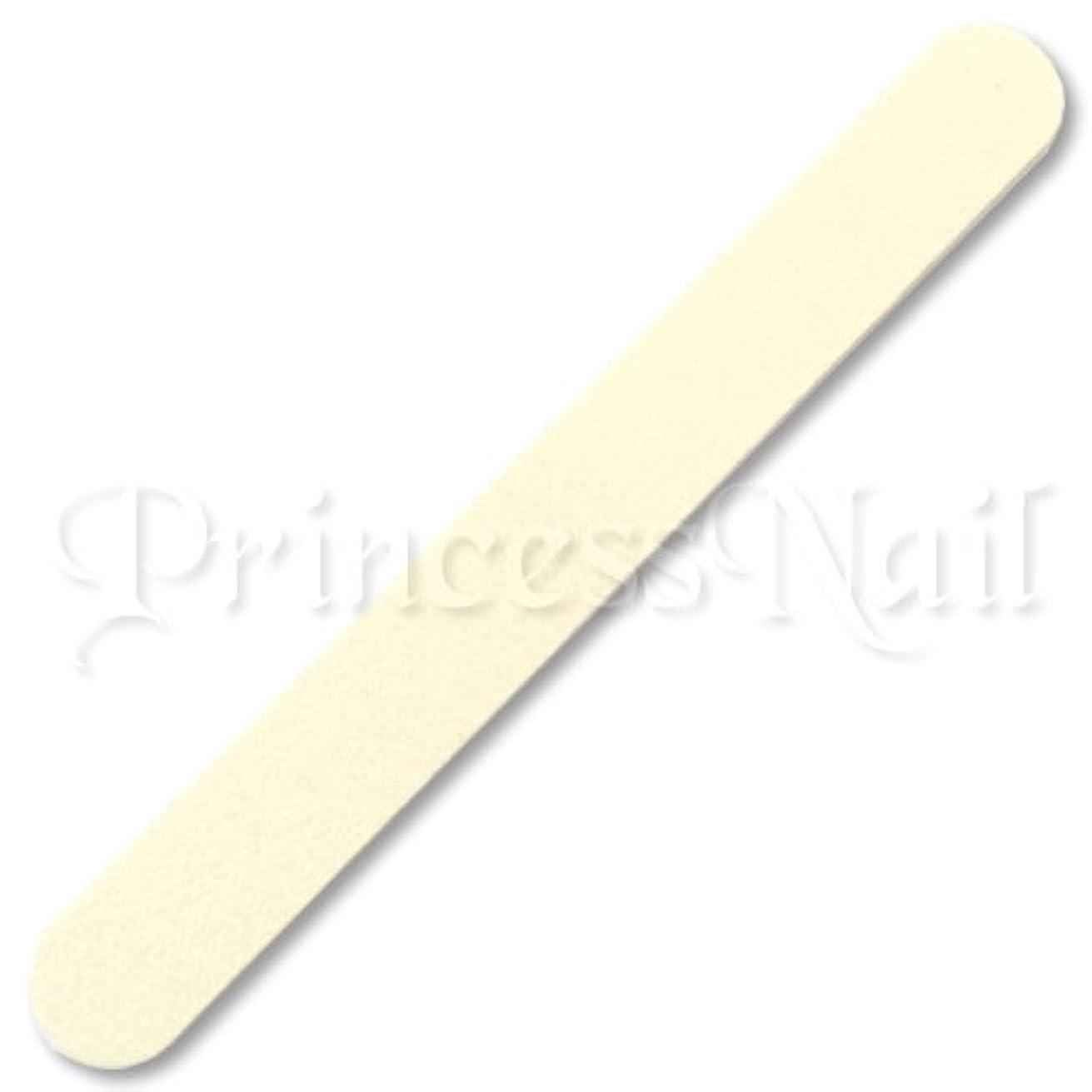 ばかラジカル不毛のジェルネイル用 ネイルファイル エメリーボード 100/180 ホワイト