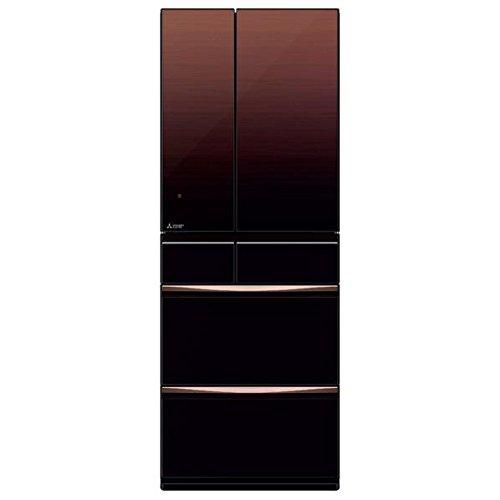 三菱 572L 6ドア冷蔵庫(グラデーションブラウン)MITSUBISHI 置けるスマート大容量 MXシリーズ MR-MX57D-ZT