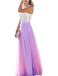 c1cadd8241382 花嫁の介添え 夕暮れ パーティー ウエディングドレス 正式のウエディング カクテル シフォン レース ドレス