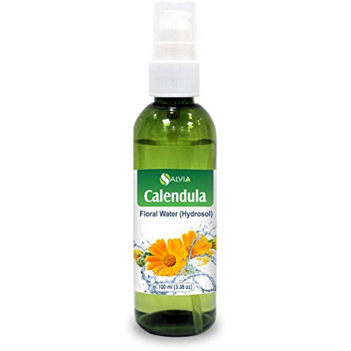 ロール暫定着替えるCalendula Floral Floral Water 100ml (Hydrosol) 100% Pure And Natural