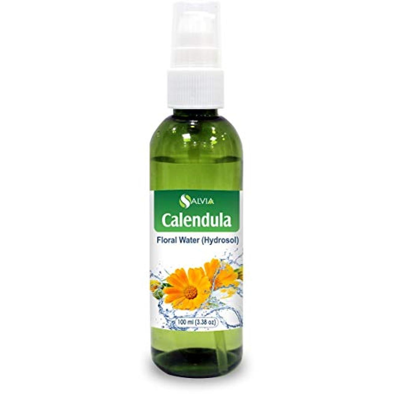 ホステス歌詞マイクロフォンCalendula Floral Floral Water 100ml (Hydrosol) 100% Pure And Natural