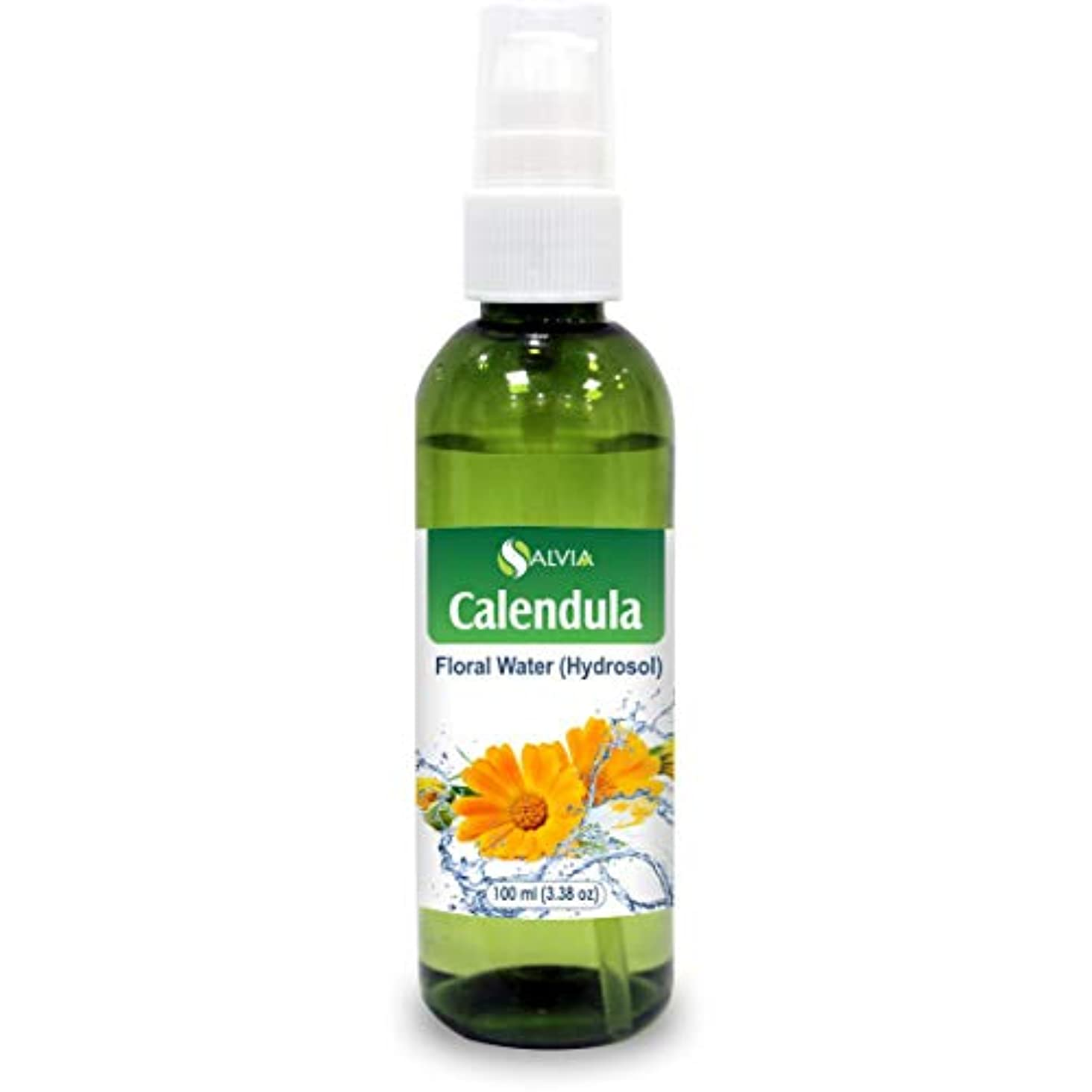 リーフレット基礎舗装するCalendula Floral Floral Water 100ml (Hydrosol) 100% Pure And Natural