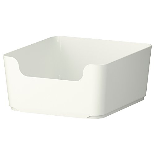 IKEA(イケア) PLUGGIS 8 l 00234711 分別ゴミ箱、ホワイト