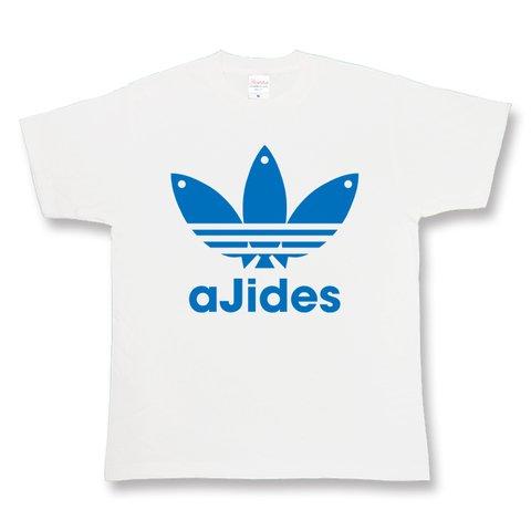 AJIDES アジデス ajides イチロー パロディ ネタ 個性派 おもしろ 半袖Tシャツsswh00012-c-m