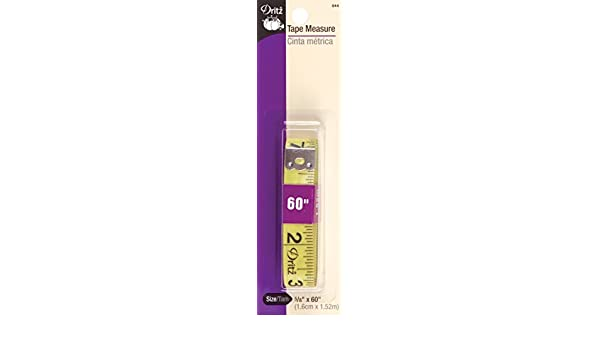 Dritz Tape Measure Sewing Product, 5//8 by 60-Inch Prym Consumer