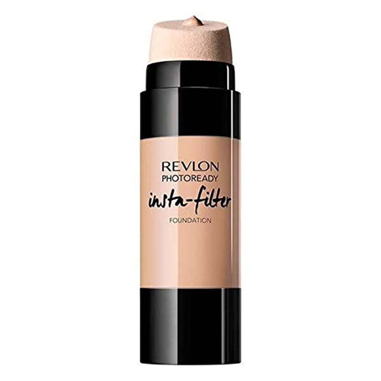 [Revlon ] 基礎自然ベージュInstafilterレブロンPhotoready - Revlon PhotoReady Instafilter Foundation Natural Beige [並行輸入品]