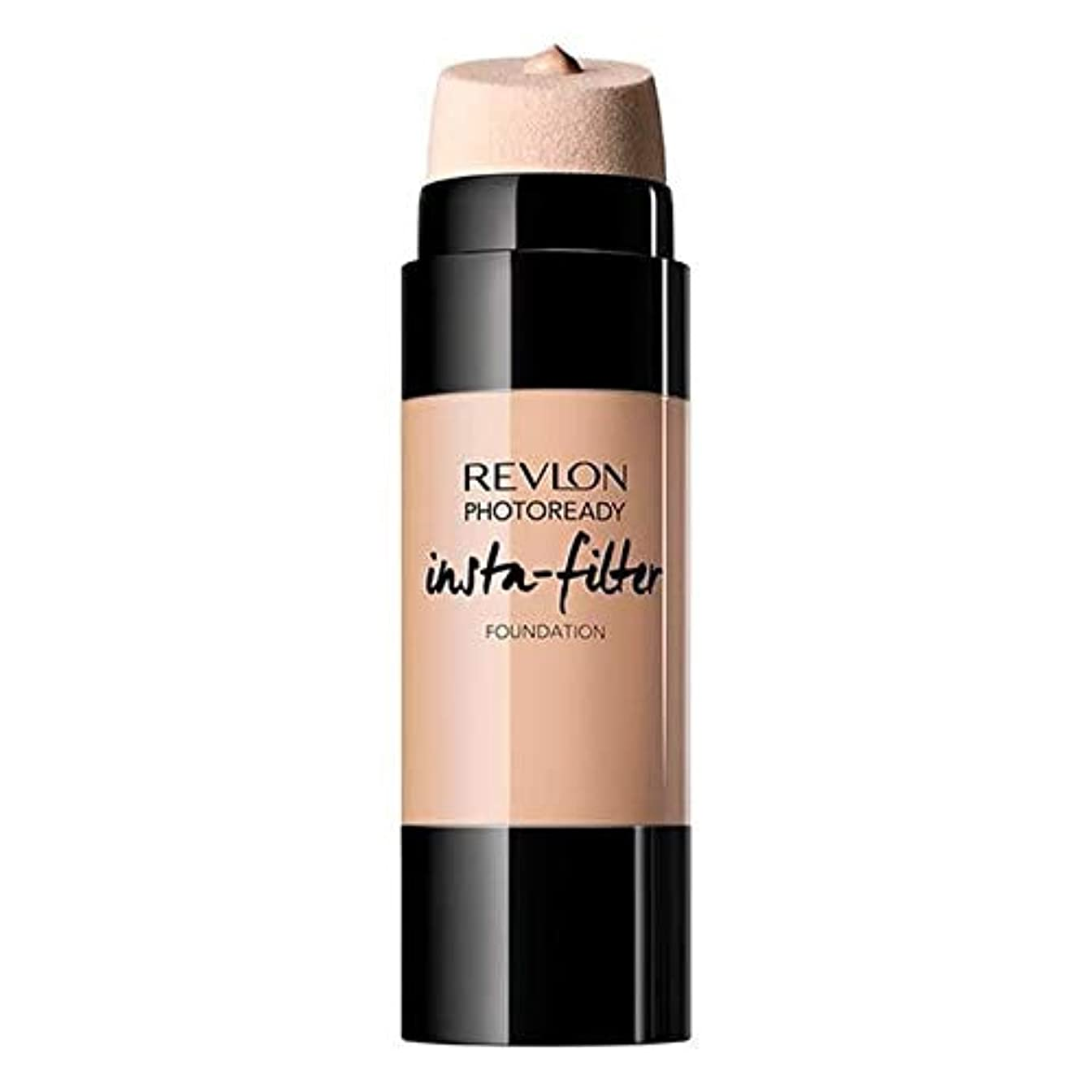 無駄な眠り九月[Revlon ] 基礎自然ベージュInstafilterレブロンPhotoready - Revlon PhotoReady Instafilter Foundation Natural Beige [並行輸入品]