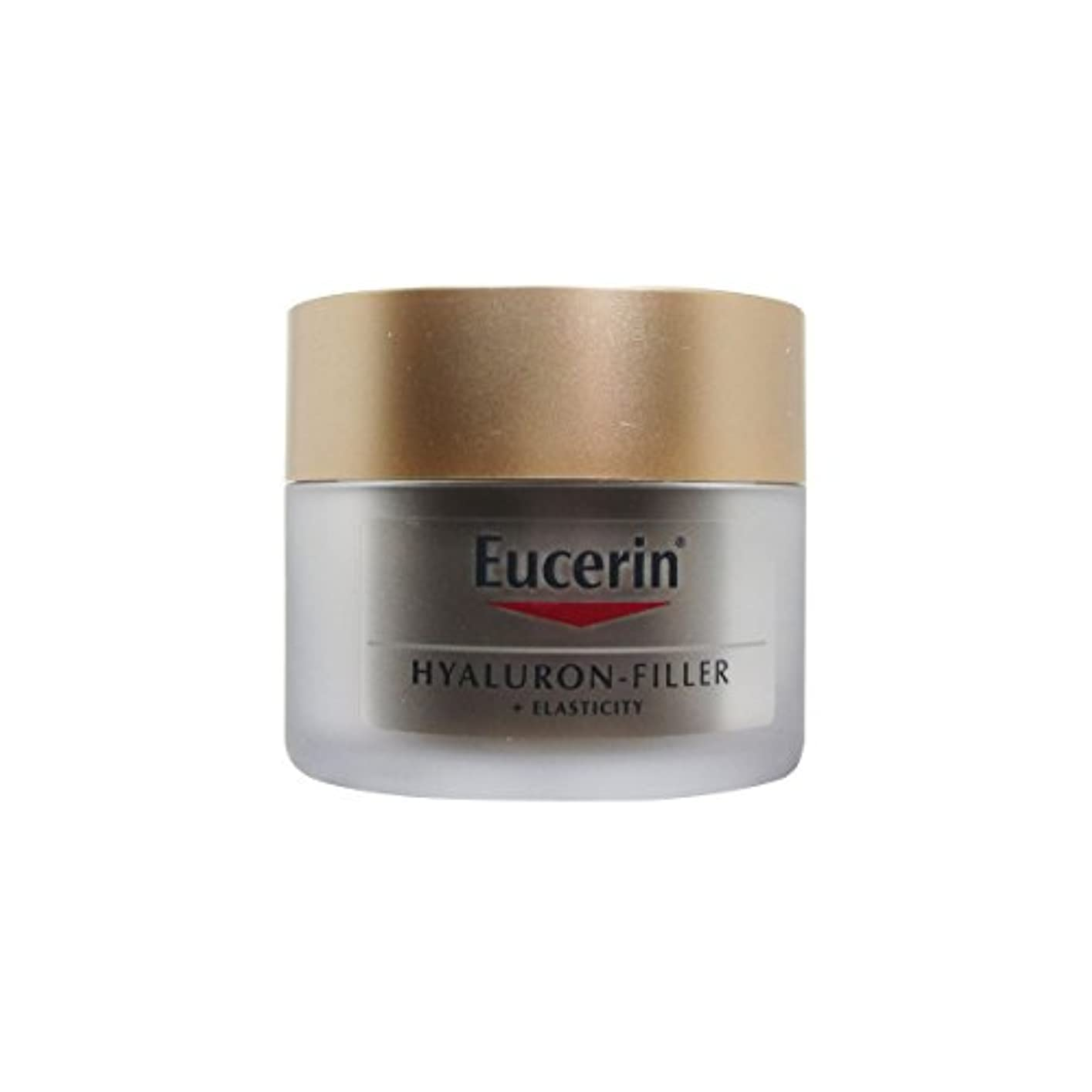 繊維水曜日忠実Eucerin Hyaluron Filler + Elasticity Night Cream 50ml [並行輸入品]