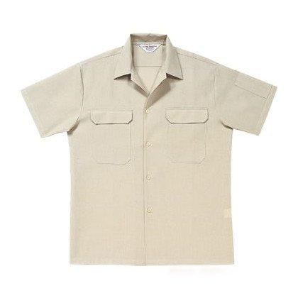アリオカ  半袖開襟シャツ 春夏用 A9700