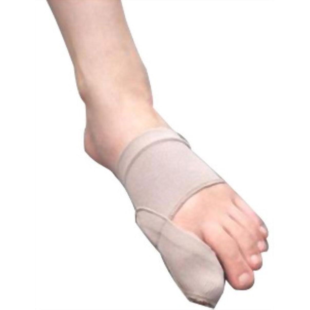 個人的に形歯外反母趾足楽サポーター ハード